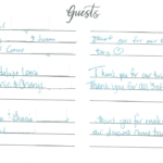 Dr. Sadaat's Guest Book Page 2
