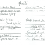 Dr. Sadaat's Guest Book Page 3