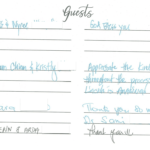 Dr. Sadaat's Guest Book Page 4